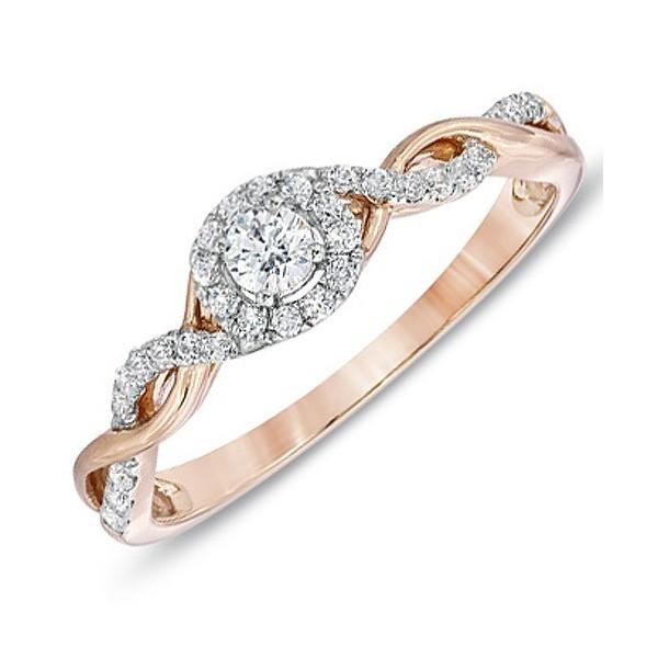Fascinating Infinity Ring Wedding Ring 0 50 Carat Round Cut