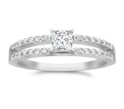 Multistone Ring On