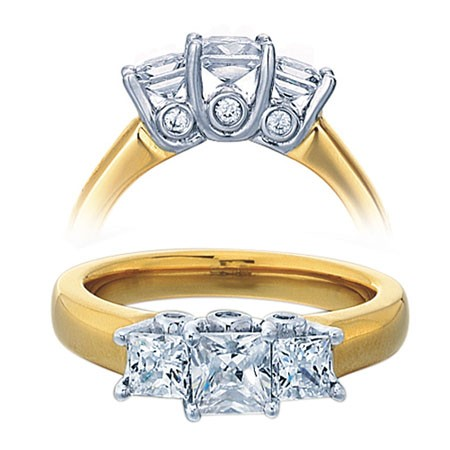 Cool wedding rings for newlyweds Cushion cut engagement rings argos