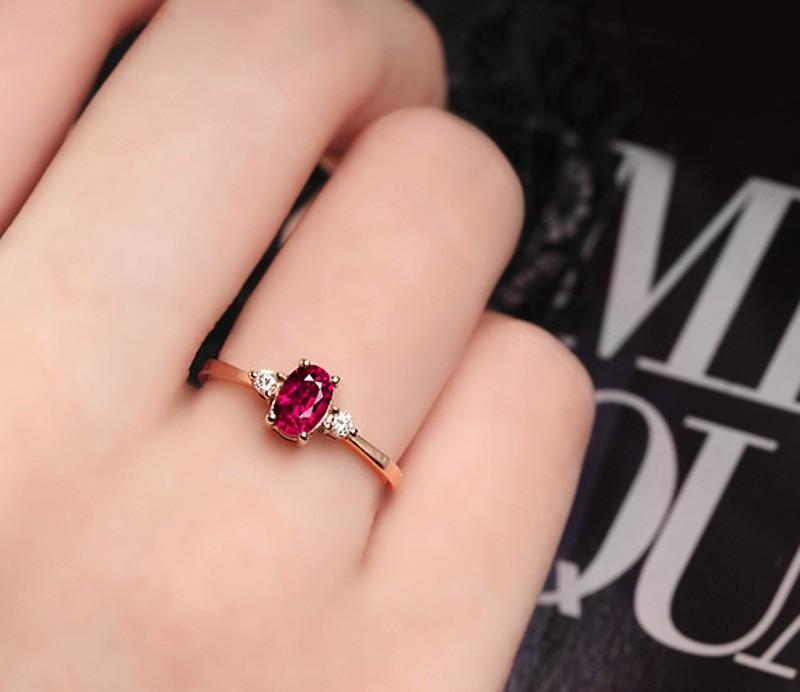 Heart Cut Peridot Ring Rose Gold