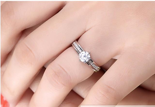 Unique 1 2 Carat Diamond Bridal Set On