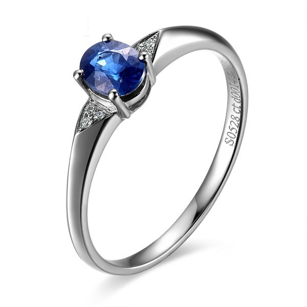 and shank rings gabriel white engagement ring rounded featured diamond twisted sapphire with gold