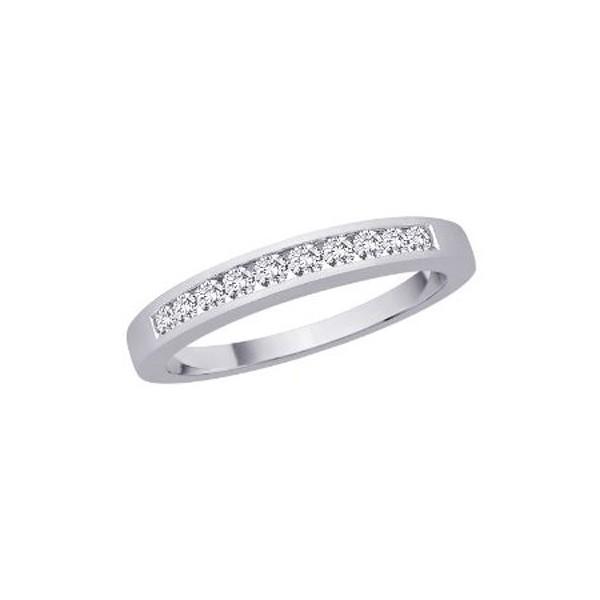 0 25 carat diamond wedding band ring on 10k white gold on sale