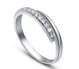 .25 Carat Diamond Wedding Band on 14k White Gold