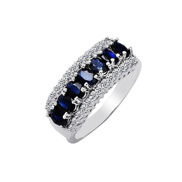 silver perfectjewelry men gems gem and sterling free jewelry women blue fine shipping for sapphire dhgate product ring from com real