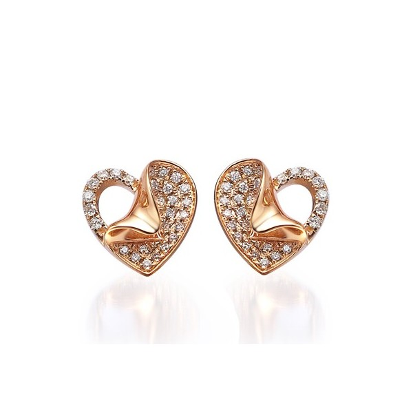 thinkgeek onmodel stud iosn image gold earrings additional to woman click wonder product zoom