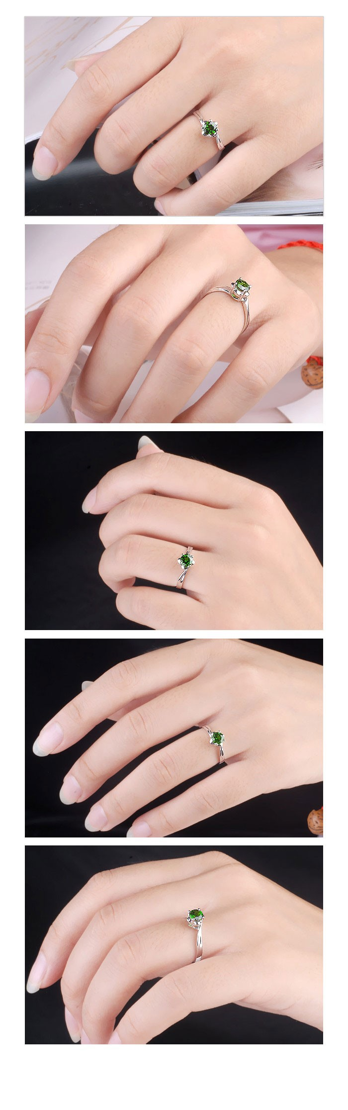 how to wear emerald gemstone ring