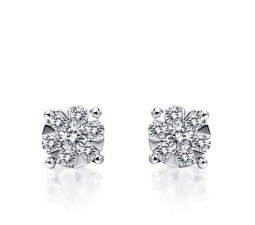 1 Carat Diamond Earrings