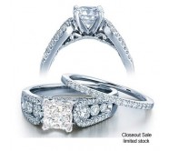 1 Carat Diamond Bridal Set on Closeout Sale Limited time offer