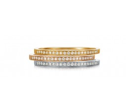 Affordable Stackable 3 Wedding Band Rings 1 Carat Diamond on Sale