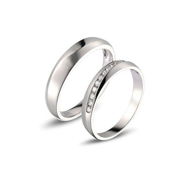 Affordable Diamond Couple Wedding Bands for Him and Her JeenJewels