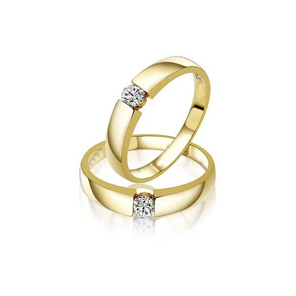 Closeout Sale Fascinating Married Life Rings 0 20 Carat Diamond