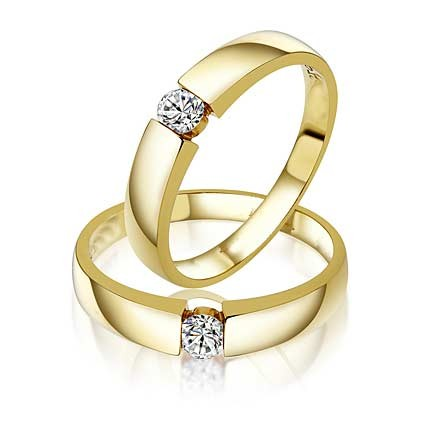 Closeout Sale Fascinating Married Life Rings 0 20 Carat