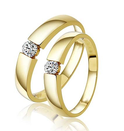 e5928e0d37 Closeout Sale! Fascinating Married Life Rings 0.20 Carat Diamond on ...
