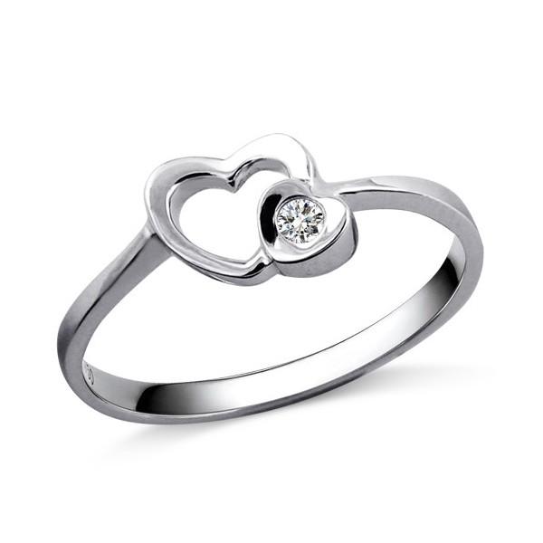diamond heart promise rings - photo #24