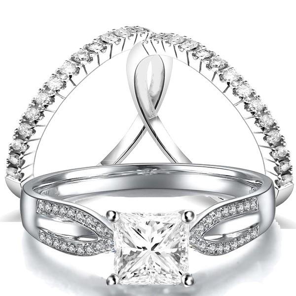 60ae4a0a13395b ... Trio Bridal Set on Closeout Sale on. 2 Carat Diamond ...