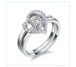 GIA Certified Diamond Bridal Set, Valid till Nov 14