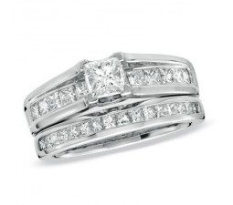 Diamond Wedding Set on