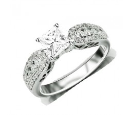 Inexpensive Antique Engagement Ring on