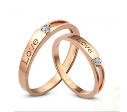Inexpensive Couples Matching Diamond Wedding Ring Bands