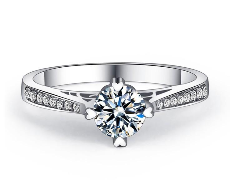 exquisite 1 2 carat certified engagement