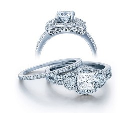 Wedding Ring Set on