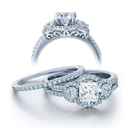 Wedding Ring Set on - JeenJewels