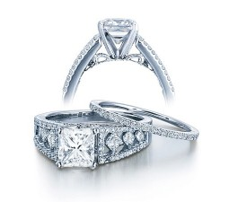 Diamond Wedding Set on Sale