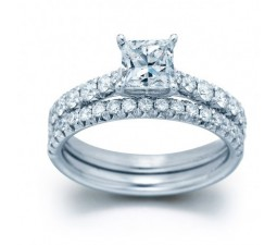 Classic Bridal Ring Set on