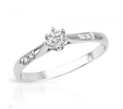 1/4 Carat Cheap Promise Ring for Her on Sale