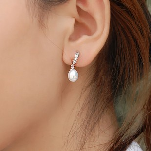 7 5 Mm Pearl Drop Earrings For Women