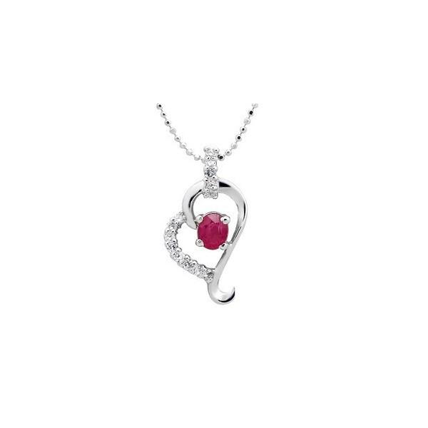 Half carat heart shape ruby necklace pendant for women jeenjewels half carat heart shape ruby necklace pendant for women aloadofball Gallery