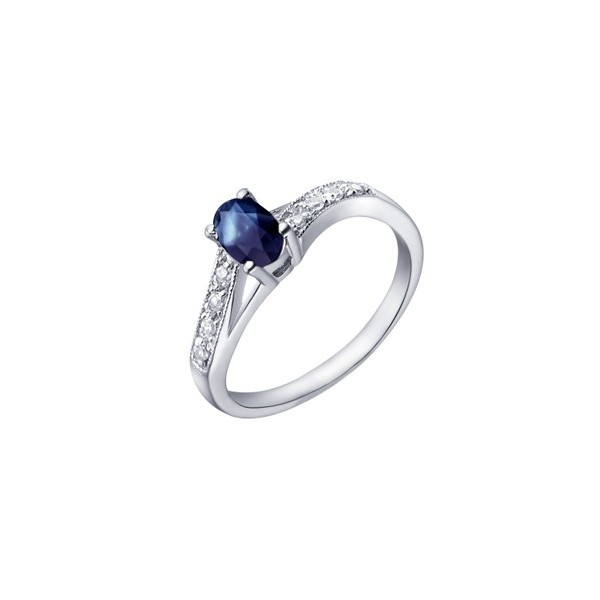 Cheap 50 Carat Sapphire Wedding Ring Band for Women on Sale
