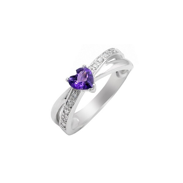 Heart amethyst engagement ring download images photos for Heart shaped engagement ring box