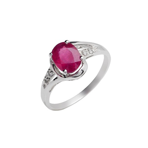 Diamond Rings For Sale Cheap: Cheap 1.5 Carat Ruby Engagement Ring For Her On Closeout