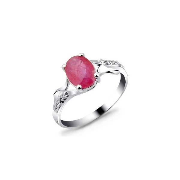Ruby Engagement Rings For Sale: 1.5 Carats Ruby Engagement Ring For Women On Sale