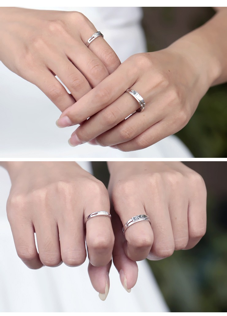 Delightful His And Her Rings Diamond On Gold Jeenjewels