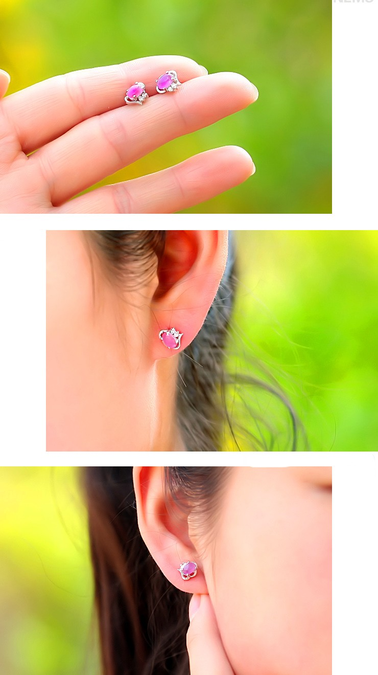 earrings shop carat screw product gold size round stud amethyst silver rakuten white natural back sabrina