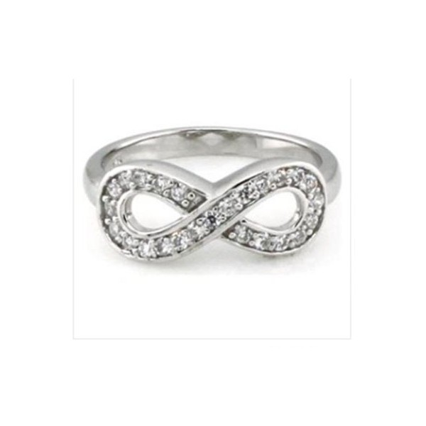 band symbol wedding infinity the rings love ringsengagement bands engagement eternal of diamond