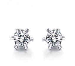1 Carat Diamond Earrings