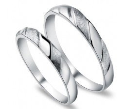 Matching Couples His and Her Wedding Rings bands