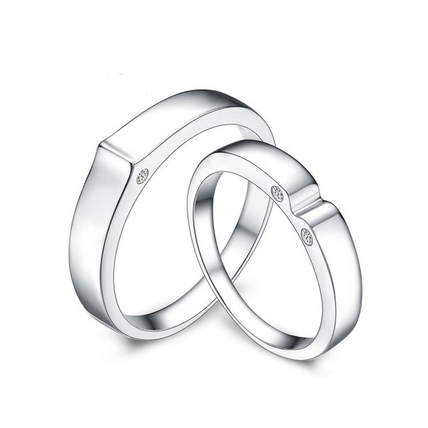 matching his and her wedding ring bands - Wedding Ring Bands For Her