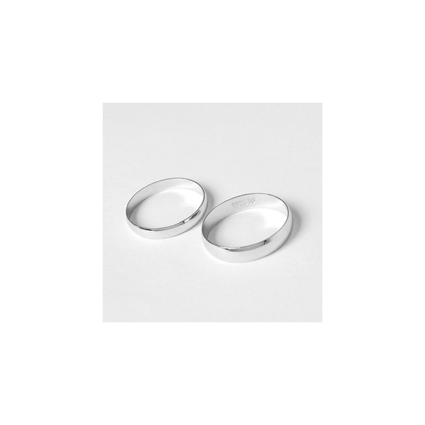 ... Rings A  White Gold Comfort fit Wedding Ring bands for Him and Her
