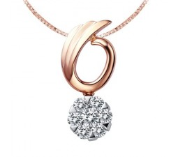 Diamond pendants diamond pendant diamond necklaces pendants 4 love on wings diamond circle pendant aloadofball Images