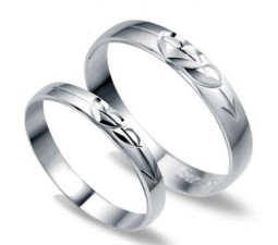 Unique His and Her matching Wedding Ring Bands