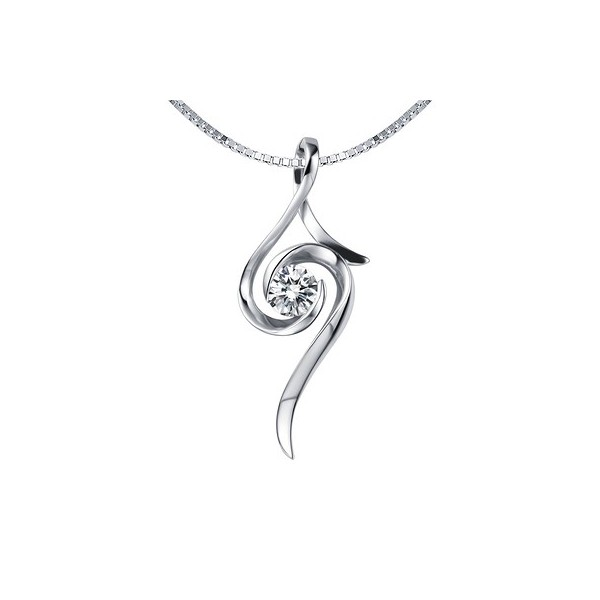 Beautiful affordable diamond pendant on 10k white gold jeenjewels 1 carat diamond pendant mozeypictures Image collections