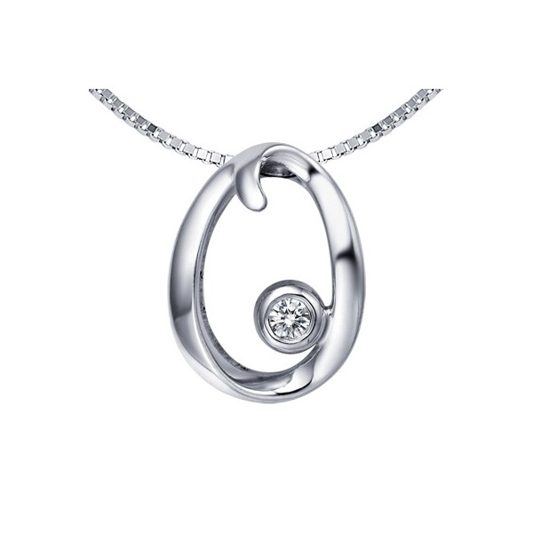 O initial alphabet diamond pendant on 9ct white gold jeenjewels 1 carat diamond pendant aloadofball Choice Image