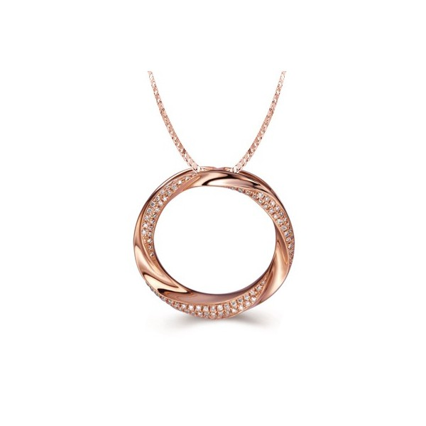 Fashion pendants fashion necklaces cheap fashion pendants unique diamond pendant on 18k rose gold audiocablefo