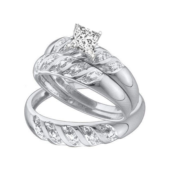 Cheap Wedding Rings Sets For His And Her Wedding Ideas