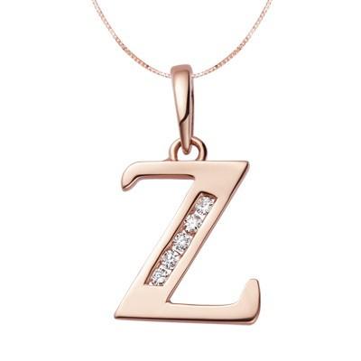 z alphabet in diamond  Home > Pendants >